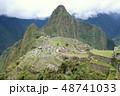 ペルー 風景 マチュピチュの写真 48741033