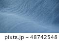 デニム ジーンズ  生地 布 カジュアル インディコ ビンテージ イメージ 背景 素材  48742548