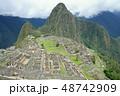 ペルー 風景 マチュピチュの写真 48742909