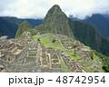 ペルー 風景 マチュピチュの写真 48742954
