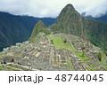 ペルー 風景 マチュピチュの写真 48744045