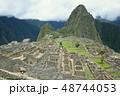 ペルー 風景 マチュピチュの写真 48744053