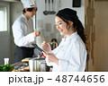 キッチン 厨房 シェフの写真 48744656
