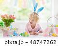 EASTER イースター 復活祭の写真 48747262