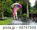 雨 子 子供の写真 48747308