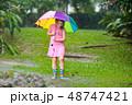 雨 子 子供の写真 48747421