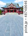 笠間稲荷神社 拝殿 (茨城県笠間市) 2019年3月現在 48748646