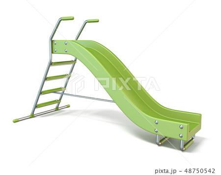 Green children slide 3D 48750542
