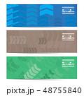 Colorful Arrow Three Horizontal Banner Set  48755840