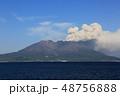 桜島 活火山 火山の写真 48756888