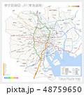 東京の路線図・JR(東海道線) 48759650