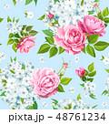 パターン 柄 模様のイラスト 48761234