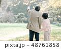 シニア 夫婦 カップルの写真 48761858