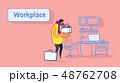 ビジネス 職業 カジュアルのイラスト 48762708