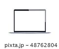 モニター フラット 平のイラスト 48762804