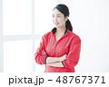 フィットネス 女性 人物の写真 48767371