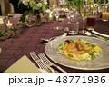 結婚式 食事 ディナー パーティー 48771936