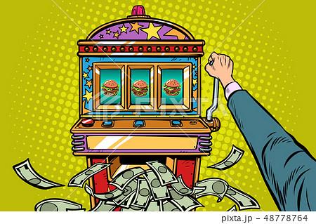 Burger prize slot machine 48778764