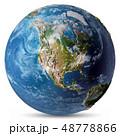 アメリカ 米国 カナダのイラスト 48778866