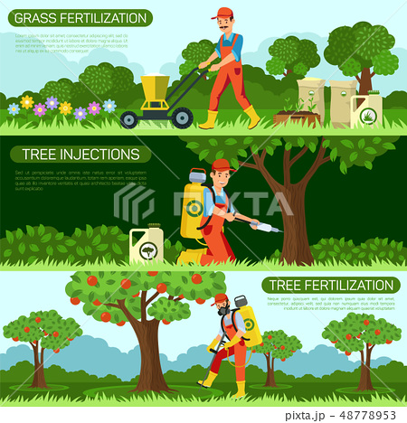 Set Grass Fertilization and Tree Injections. 48778953