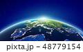 欧州 スペース 空間のイラスト 48779154