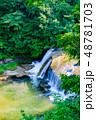 滝 日本 川の写真 48781703