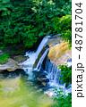 滑津大滝 滝 日本の写真 48781704