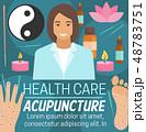 Acupuncture alternative health care medicine 48783751