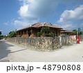 沖縄 離島 八重山 竹富島 おきなわ 南国 日本 観光地 景色 スローな島 自然豊か 琉球  48790808