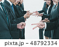 Japanese office workers 48792334