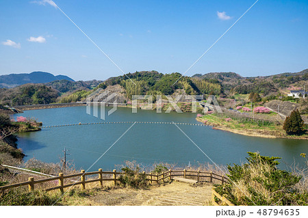 佐久間ダム湖 48794635