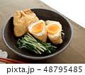おいしい卵の巾着煮 48795485