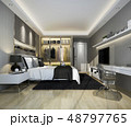 luxury modern bedroom suite tv with wardrobe 48797765