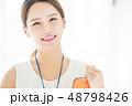 若い女性 女性 アジア人の写真 48798426