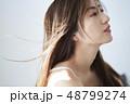 女性 ビューティーイメージ ヘアスタイル 48799274
