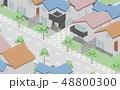 住宅街イメージ 48800300