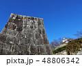 津山城 城 石垣の写真 48806342