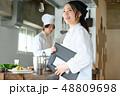 キッチン 厨房 シェフの写真 48809698