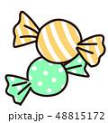 キャンディ アメ キャンディーのイラスト 48815172