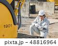 建設現場 工事 建設の写真 48816964