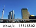 東京 東京スカイツリー 電波塔の写真 48818302