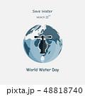 アクア 水 ウォーターのイラスト 48818740