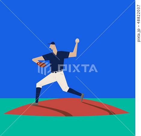 pitcher, baseball player 48822037