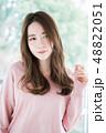 女性 若い ヘアスタイルの写真 48822051