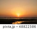 海 夕日 徳之島 48822386