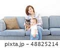 ファミリー 愛犬 室内犬 48825214