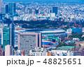 東京都市風景 建設中の国立競技場 48825651