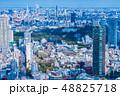 東京都市風景 春 48825718