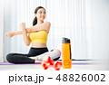 女性 スポーツウェア ヨガ 48826002