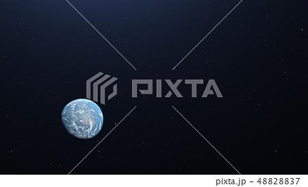 地球3DCG perming3DCG160812 イラスト素材 48828837